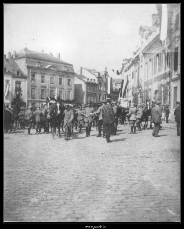 005-Place Albert, militaires allemands (1914-1918)