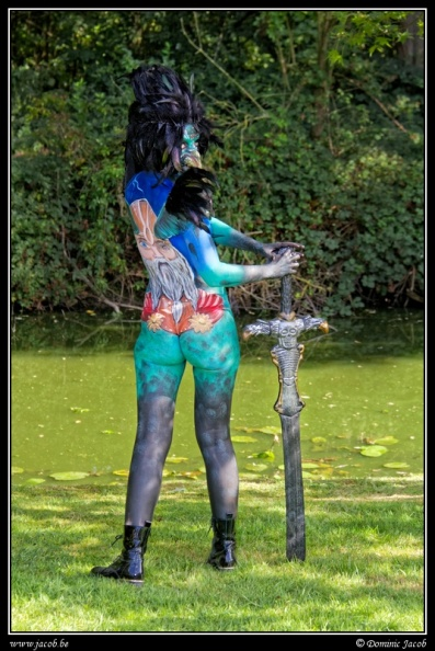 002-Elftopia2019, body painting