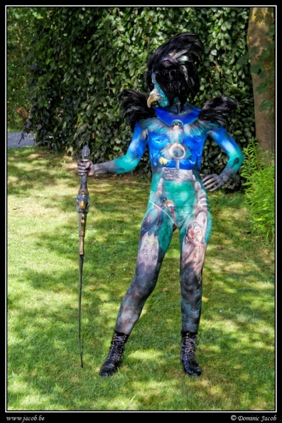 005-Elftopia2019, body painting